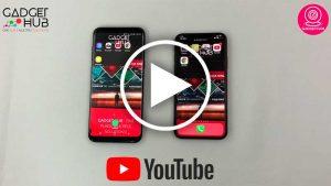GadgetCam - Samsung S8 Plus vs iPhone X - Gadget Hub - Lisboa Portugal