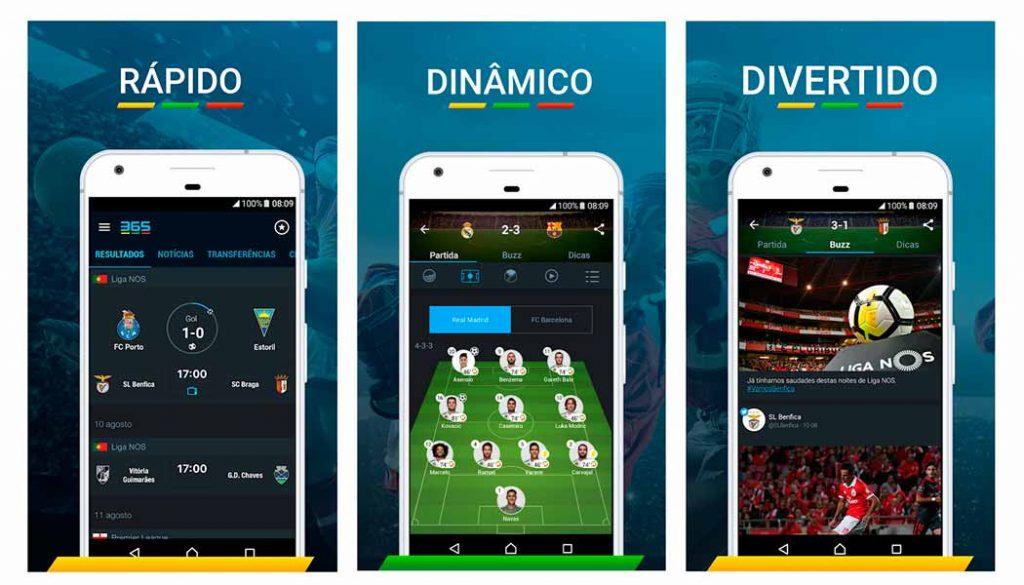 365Scores - Futebol ao Vivo - Apps de resultados de futebol - Blog - Gadget Hub em Lisboa