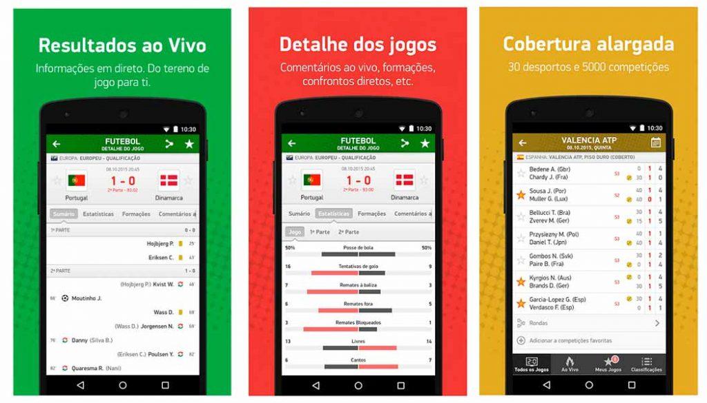 Meus Resultados 2 - Apps de resultados de futebol - Blog - Gadget Hub em Lisboa