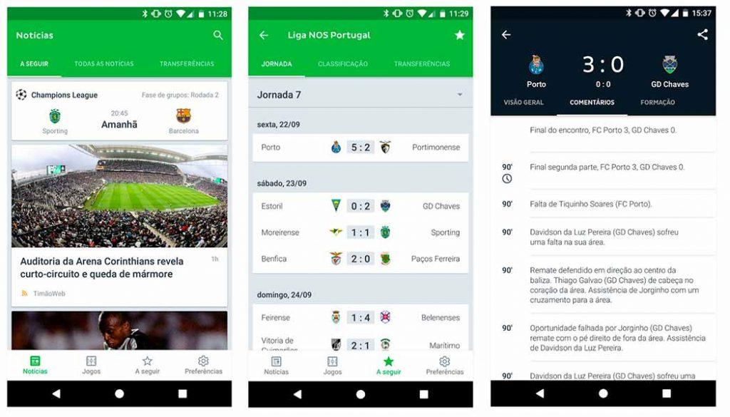 Onefootball - Futebol Noticias 2- Apps de resultados de futebol - Blog - Gadget Hub em Lisboa