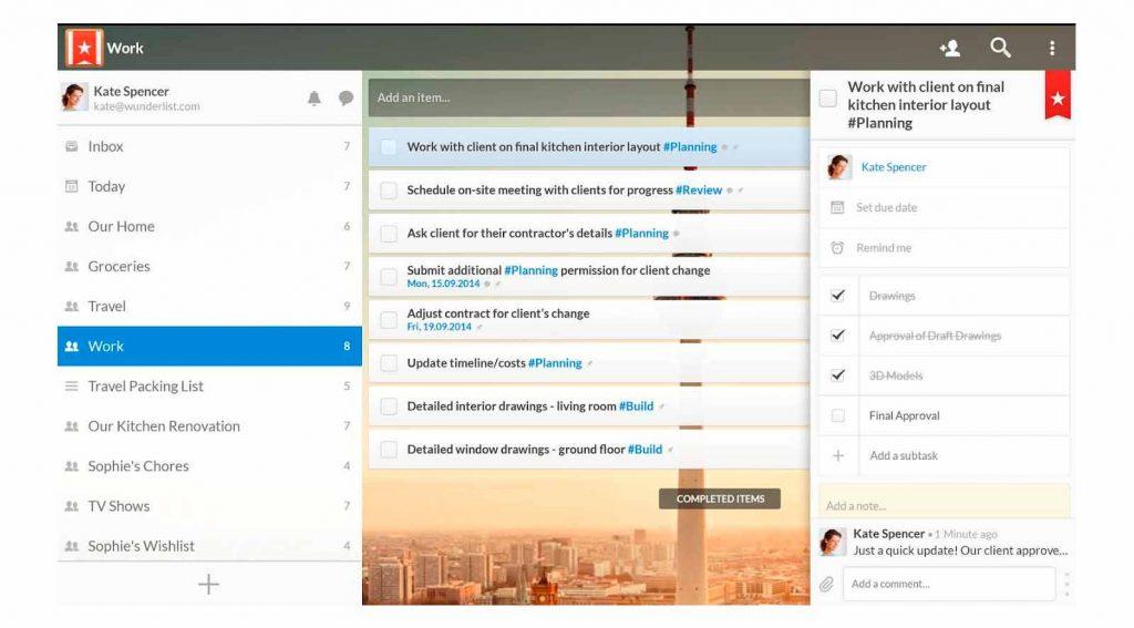 As Melhores Apps para gerir tarefas,Wundelist Gestão de Projetos - Actividades - BLOG - Os melhores Serviços em Lisboa - Aproveita Já - Gadget Hub