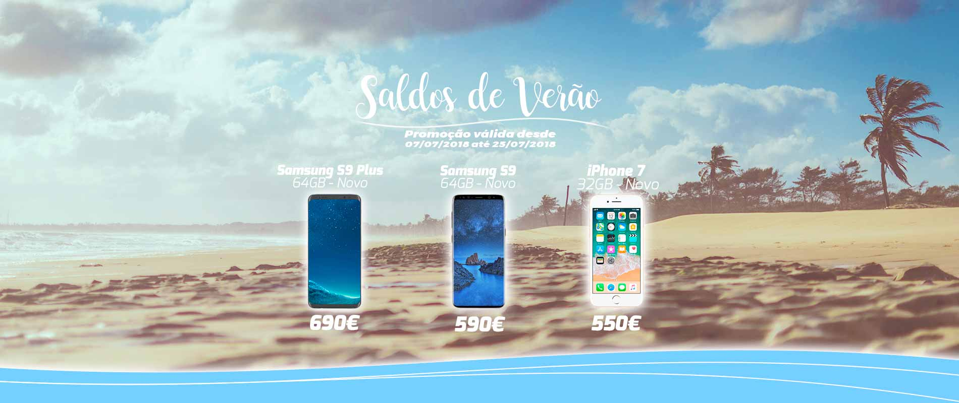 Gadget Hub – Saldos de Verão – Promoção iPhone 7 Samsung S9 Plus e Samsung S9 – Promoções Apple e Samsung em Lisboa